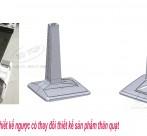 Scan 3d và thiết kế quạt nhựa, quạt công nghiệp