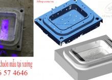 Scan 3D khuôn mẫu, thiết kế ngược khuôn khay nhựa