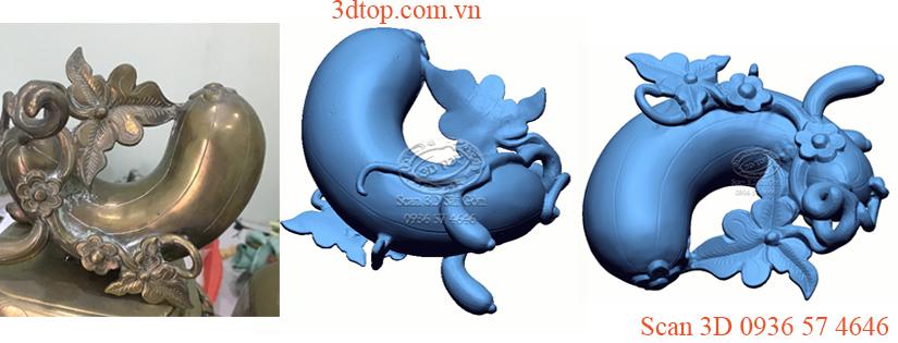 Scan 3D đồ đồng, phục hồi đồ đồng